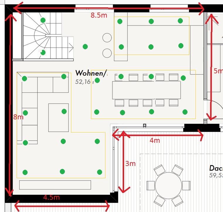 Spots Scheinwerfer Led Wohnzimmer ~ Raum- und Möbeldesign ...